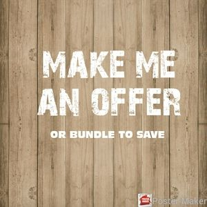 Other - Make me an Offer 👌
